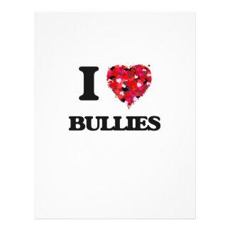 I Love Bullies Full Colour Flyer