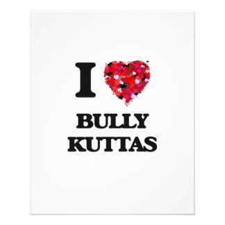 I love Bully Kuttas Personalized Flyer