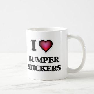 I Love Bumper Stickers Coffee Mug