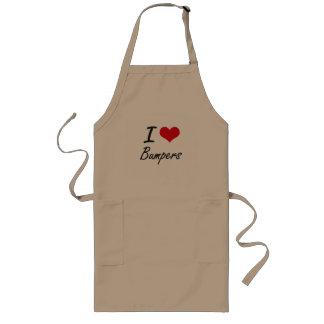 I Love Bumpers Artistic Design Long Apron