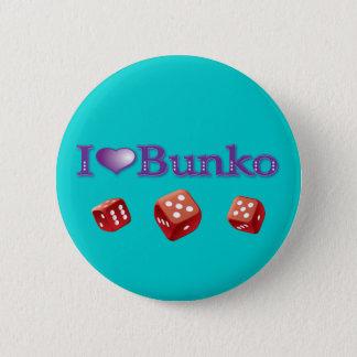 I Love Bunko 2 Inch Round Button