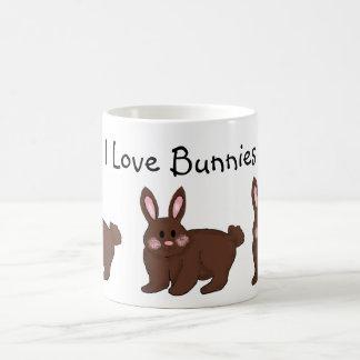 I Love Bunnies Mugs
