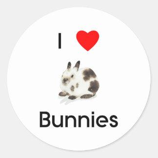 I love bunnies Sticker