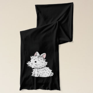 I love bunnies - Winter scarf