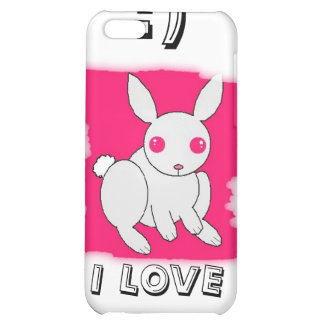 I LOVE BUNNY S CASE FOR iPhone 5C