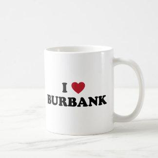 I Love Burbank California Coffee Mug