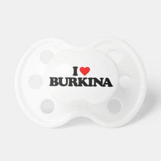 I LOVE BURKINA PACIFIER
