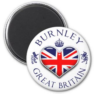 I Love Burnley Magnet