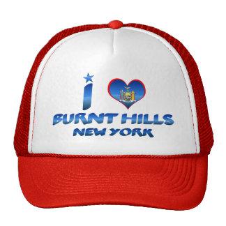 I love Burnt Hills, New York Trucker Hat
