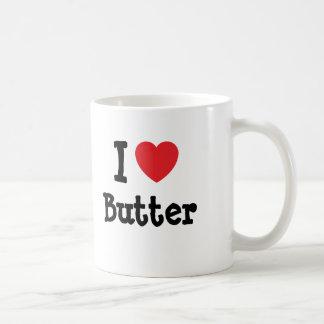 I love Butter heart T-Shirt Mug