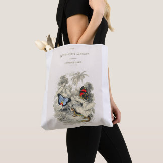 I Love Butterflies and Moths Tote Bag