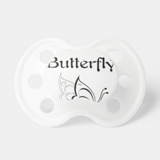 I Love Butterfly Baby Pacifier