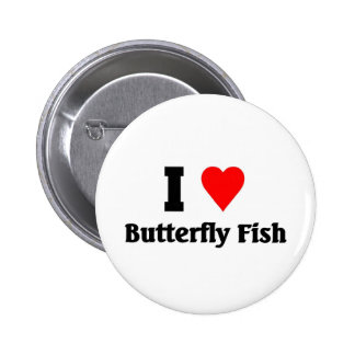 I love Butterfly Fish Buttons