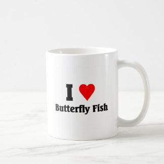 I love Butterfly Fish Mugs