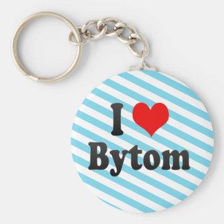 I Love Bytom, Poland Keychain