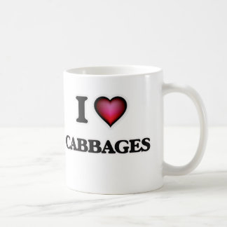 I love Cabbages Coffee Mug
