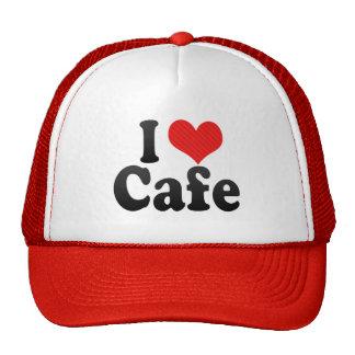 I Love Cafe Hats