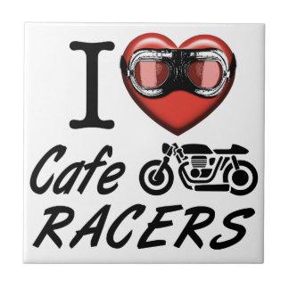 I Love Cafe Racers Tile