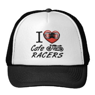 I Love Cafe Racers Trucker Hat