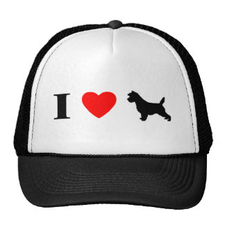 I Love Cairn Terriers Hat