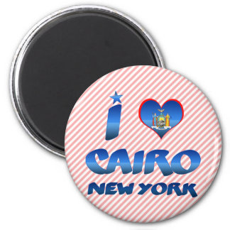 I love Cairo, New York Magnet