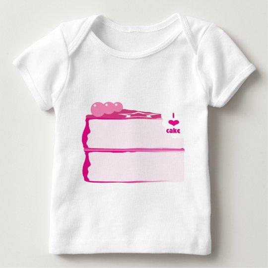 I Love Cake Baby T-Shirt