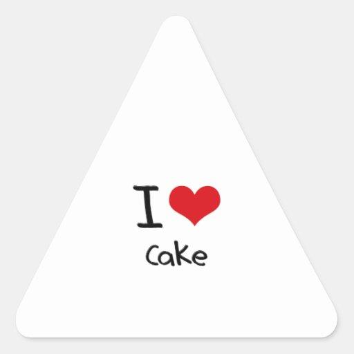 I love Cake Sticker