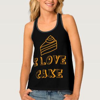 I love cake tank top