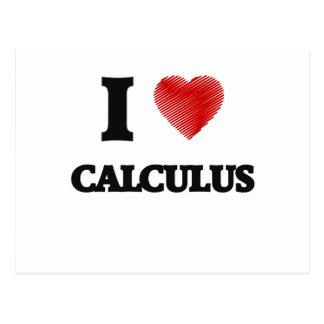 I love Calculus Postcard