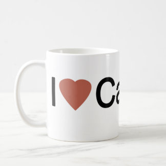 I Love Calgary Coffee Mug