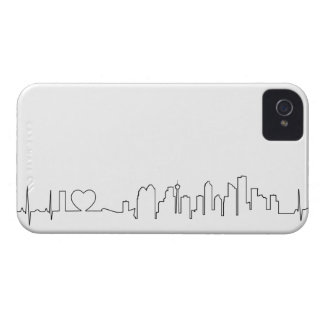 I love Calgary in an extraordinary ecg style iPhone 4 Cases