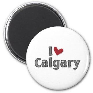 I love Calgary Magnet