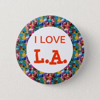 I LOVE CALIFORNIA 2 INCH ROUND BUTTON