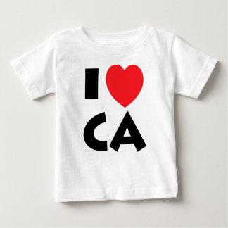 I Love California Baby T-Shirt