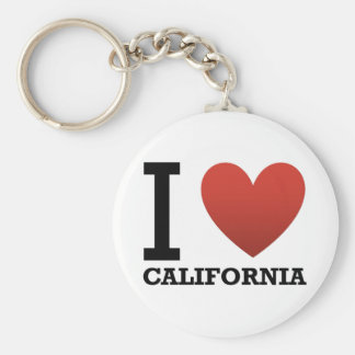i-love-california keychain