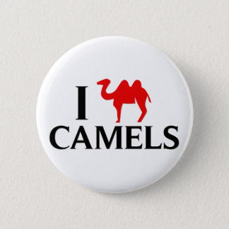 I Love Camels 2 Inch Round Button