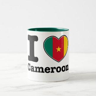 I love Cameroon Two-Tone Coffee Mug