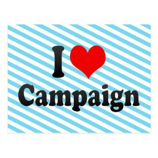 I love Campaign Postcards