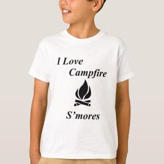 I Love Campfire S'mores T-Shirt