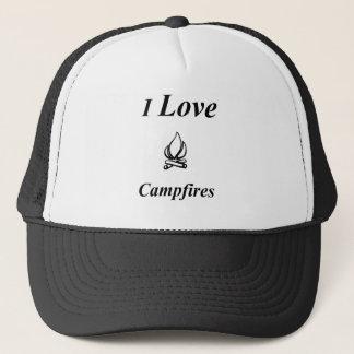 I Love Campfires Trucker Hat