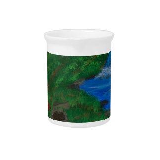 I love camping beverage pitcher
