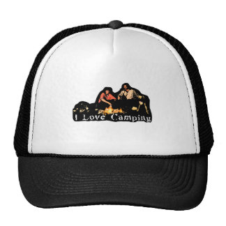 I Love Camping Family Time Hat