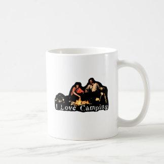 I Love Camping Family Time Coffee Mugs