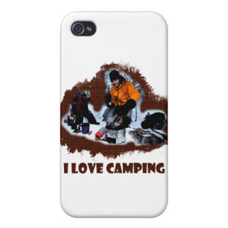 I Love Camping Frozen Toes Case For iPhone 4