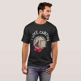 I Love Camping Funny Glamping Camp T-Shirt