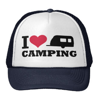 I love camping hat