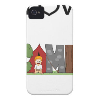 I Love Camping iPhone 4 Case
