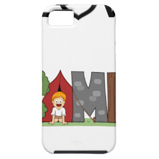 I Love Camping iPhone 5 Cases
