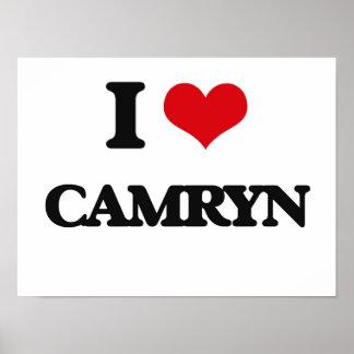 I Love Camryn Poster