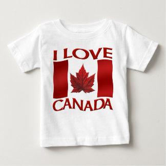 I Love Canada Baby Shirt Canada Baby Souvenirs